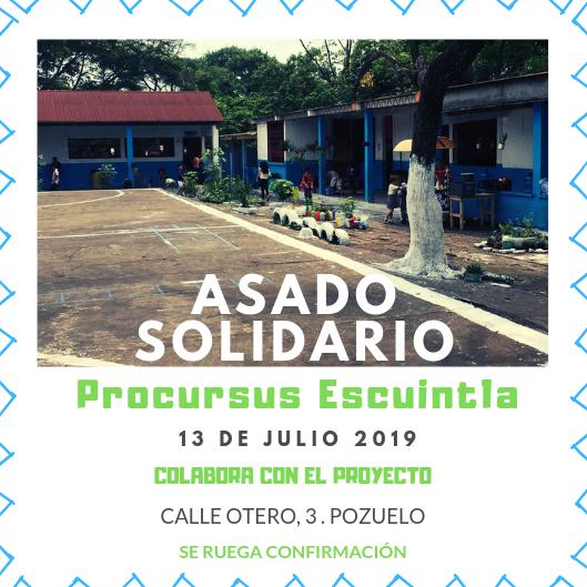 Asado Solidario Julio 2019